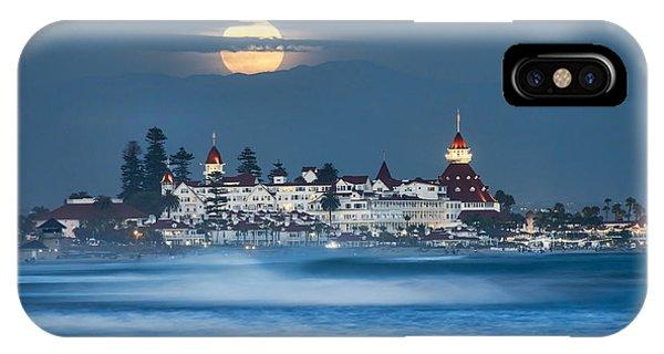 Coronado iPhone Case - Under The Blue Moon by Dan McGeorge