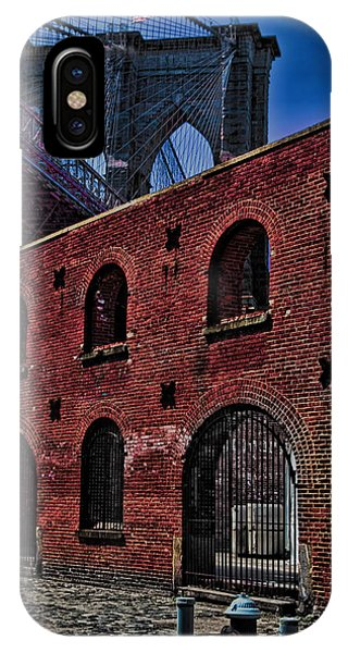 IPhone Case featuring the photograph Under The Bridge by Chris Lord