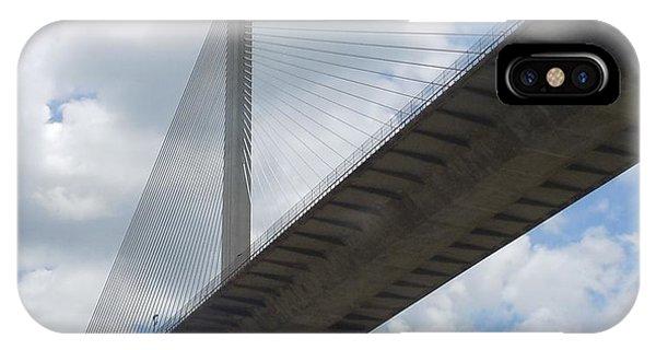 Under The Bridge Through Panama IPhone Case