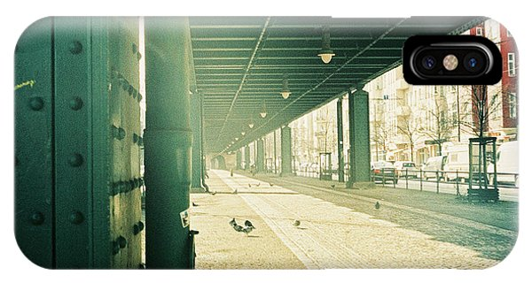 Under The Elevated Railway IPhone Case