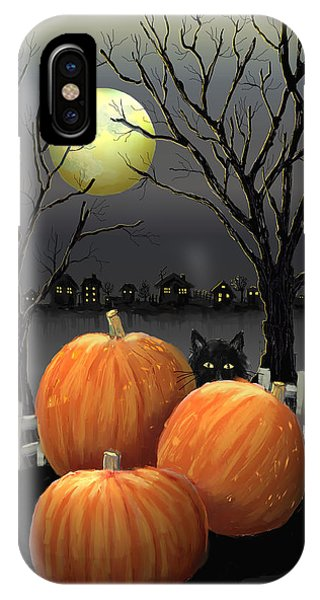Under The Full Moon IPhone Case