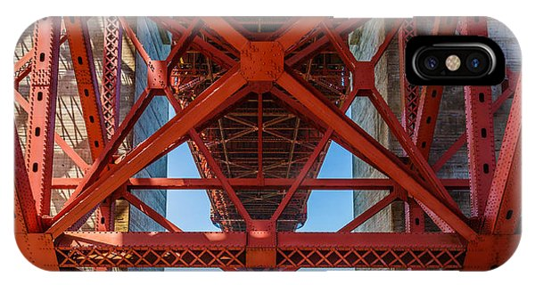 Under The Golden Gate Bridge IPhone Case