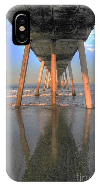 Under The Hermosa Pier IPhone Case