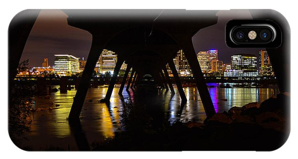 Under The Manchester Bridge IPhone Case