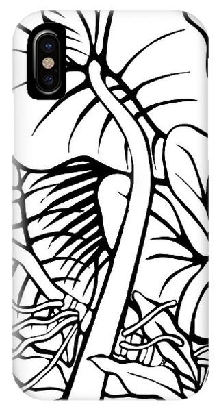 Under The Night Leaves IPhone Case