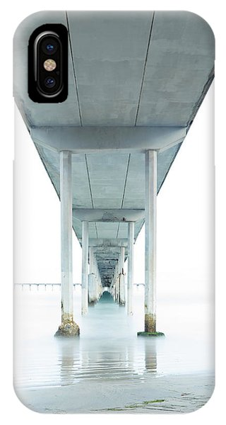 Under The Ocean Beach Pier Early Morning IPhone Case