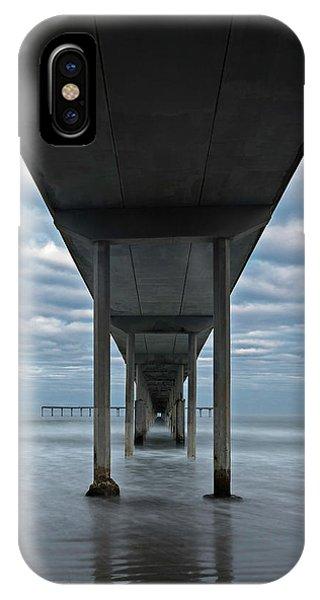 Under The Ocean Beach Pier San Diego Early Morning IPhone Case