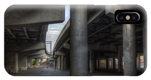 Under The Overpass I IPhone Case