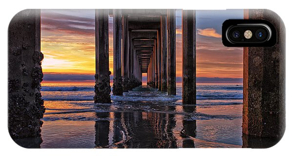 Under The Scripps Pier IPhone Case