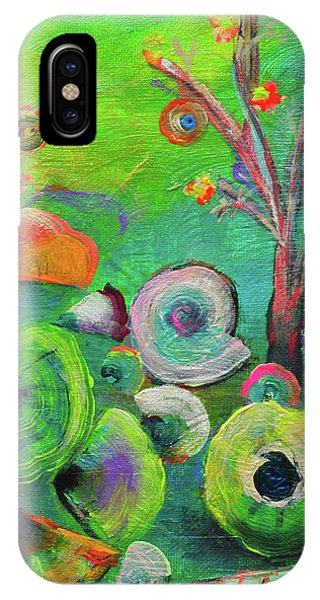 under the sea  - Orig painting for sale IPhone Case