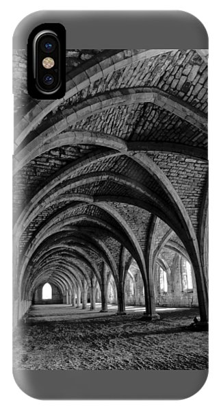 Under The Vaults. Vertical. IPhone Case