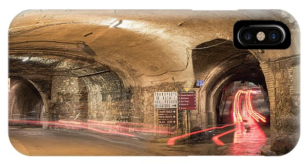 Underground Tunnels In Guanajuato, Mexico IPhone Case
