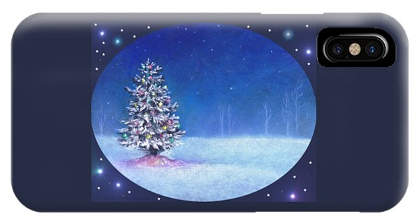 Underneath December Stars For Cards And Gifts IPhone Case