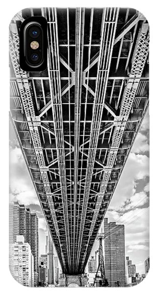 Underneath The Queensboro Bridge IPhone Case