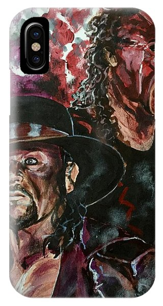 Undertaker And Kane IPhone Case