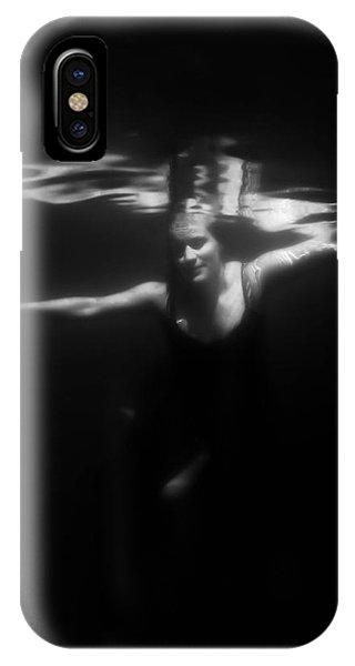 Water iPhone Case - Underwater Dreaming by Nicklas Gustafsson