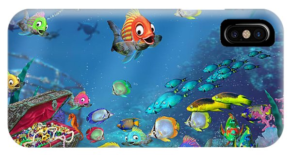 Seahorse iPhone Case - Underwater Fantasy by Doug Kreuger