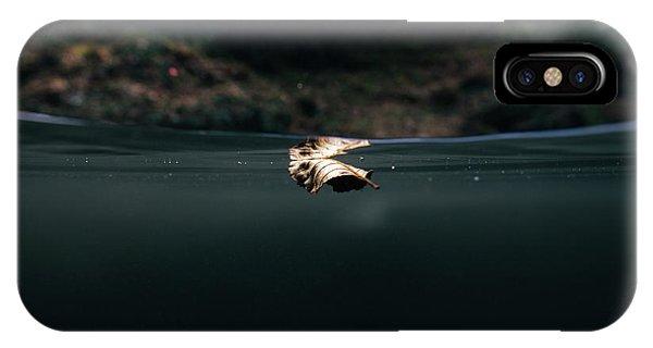Underwater Leaf IPhone Case