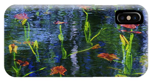 Underwater Lilies IPhone Case