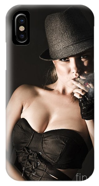 Underworld Gangster Woman IPhone Case