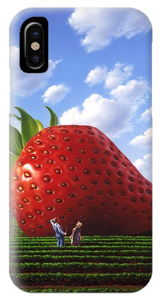 Farm iPhone Case - Unexpected Growth by Jerry LoFaro