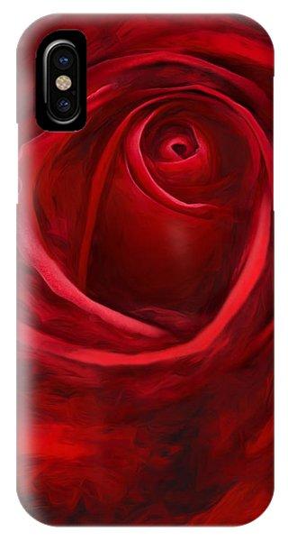 Unfurling Beauty II IPhone Case