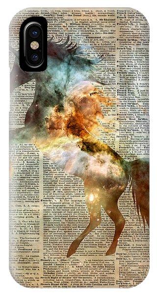 Unicorn iPhone Case - Unicorn Carina Nebula by Anna W