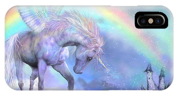 Unicorn Of The Rainbow IPhone Case