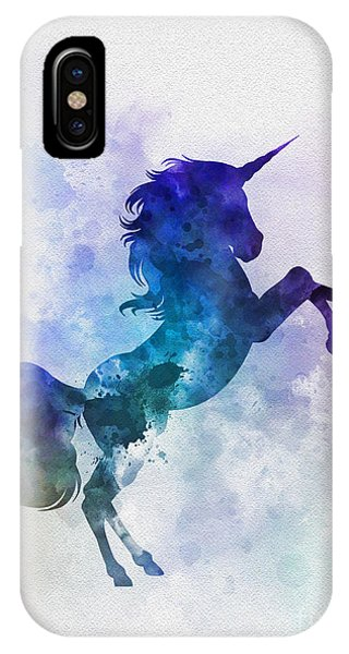 Unicorn iPhone Case - Unicorn by Rebecca Jenkins