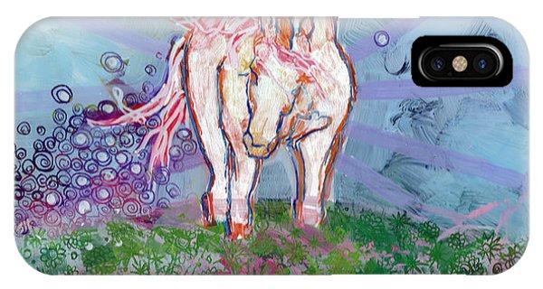 Mythological Creature iPhone Case - Unicorn Tears by Kimberly Santini