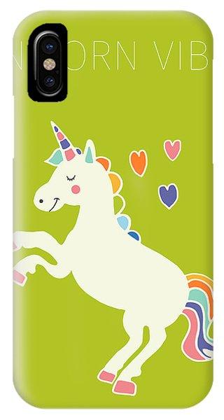 Unicorn Vibes IPhone Case