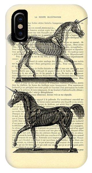 Unicorns Anatomy IPhone Case