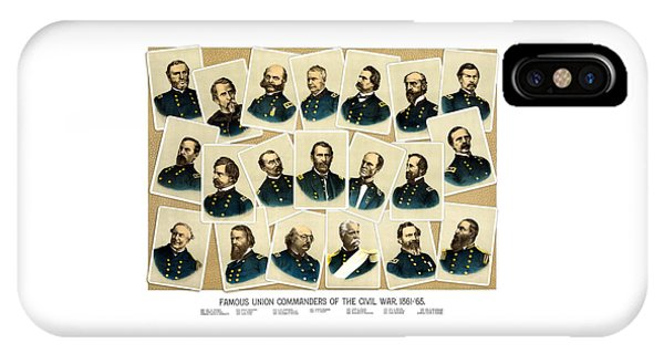Military iPhone Case - Union Commanders Of The Civil War by War Is Hell Store