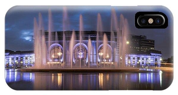 Union Fountain IPhone Case