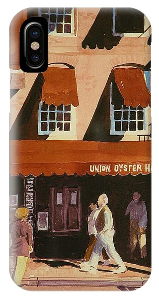 Union Oyster House Of Boston Phone Case by Walt Maes