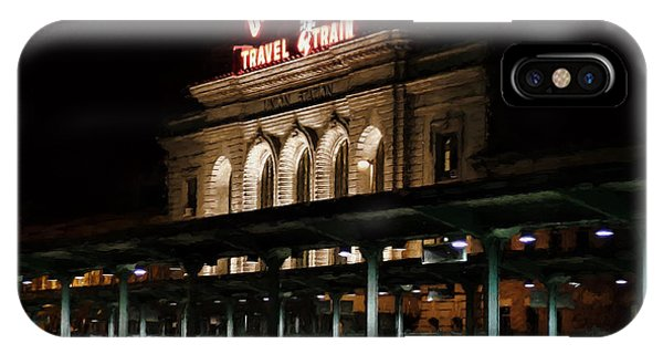 Union Station Denver Colorado IPhone Case