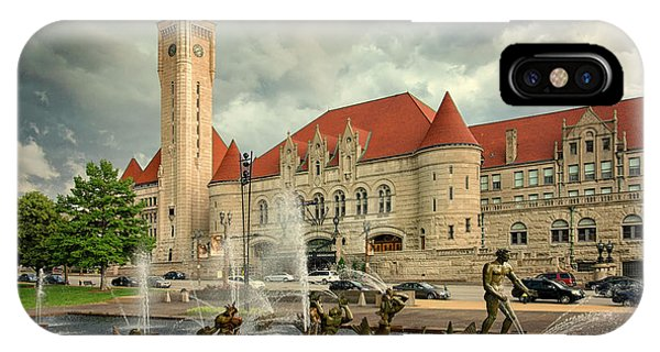 Union Station St Louis Color Dsc00422 IPhone Case
