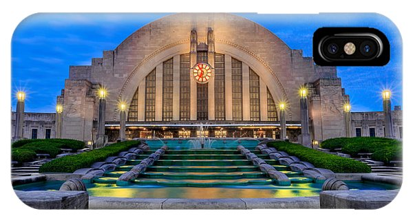Union Terminal At Sunrise II IPhone Case