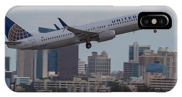 United Airlinea IPhone Case