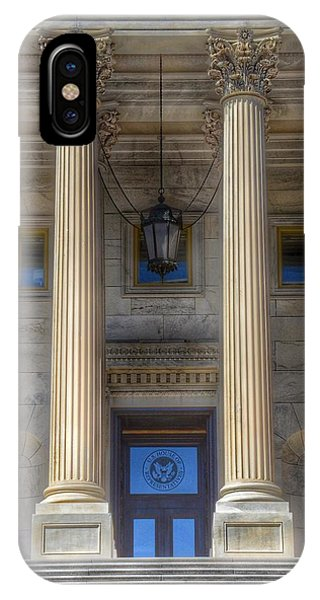 Capitol Building iPhone Case - United States Capitol - House Of Representatives  by Marianna Mills