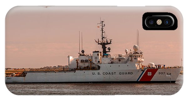 United States Coast Guard Cutter Escanaba Wmec-907 IPhone Case