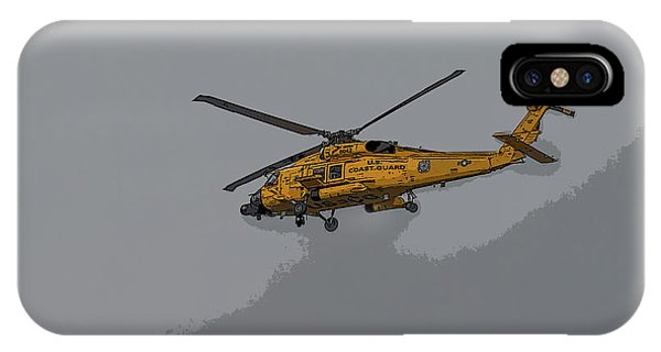 United States Coast Guard Helicopter IPhone Case