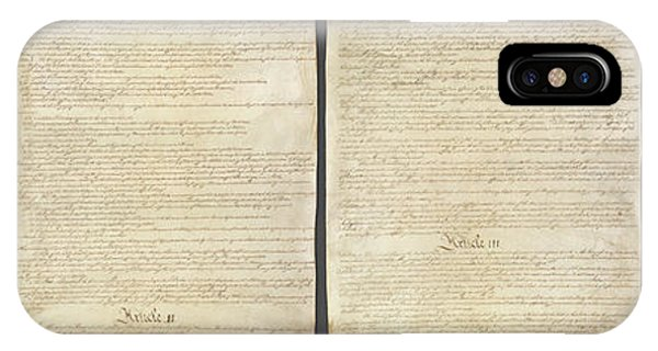 iPhone Case - United States Constitution, Usa by Panoramic Images