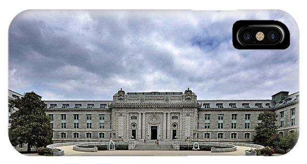 United States Naval Academy - Bancroft Hall IPhone Case