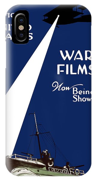 Ship iPhone Case - United States War Films Now Being Shown by War Is Hell Store