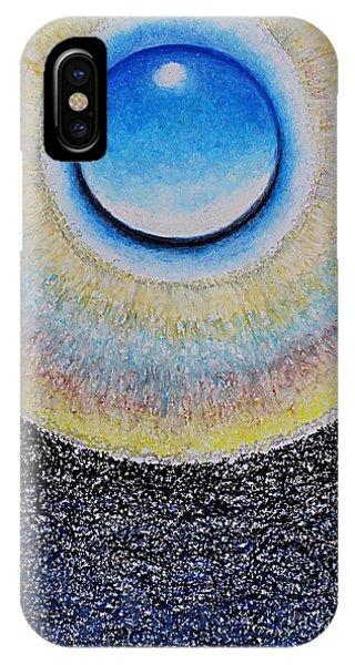 Universal Eye In Blue IPhone Case