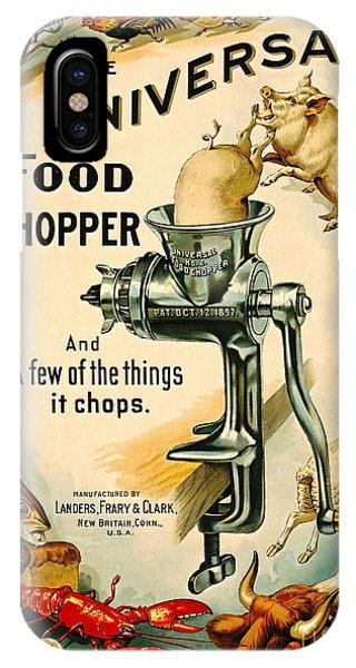 Universal Food Chopper 1897 IPhone Case