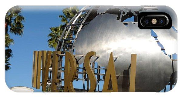 Universal Studios Globe IPhone Case