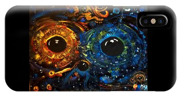 iPhone Case - Universe Watching by Michelle Audas