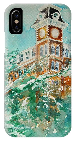 Ice On Old Main IPhone Case